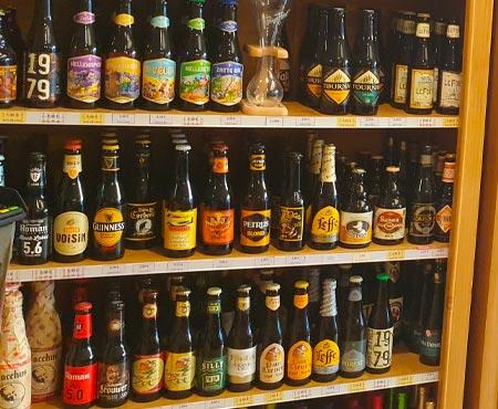 vente de bière belges à Montdidier