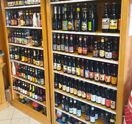 vente de bière à Montdidier