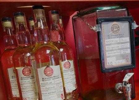 vente de whisky à Montdidier