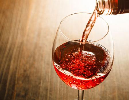 vente de vin rosé à Montdidier